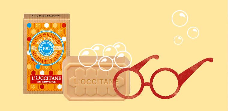 *購買 1 塊乳木果蜂蜜慈善愛心香皂 = 向眼疾病患捐贈 1 副眼鏡*
