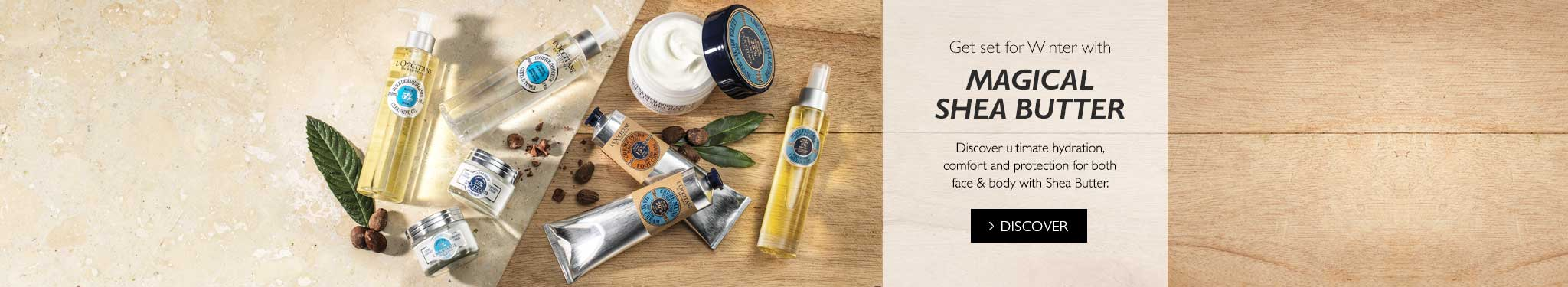 Get set for Winter with shea butter