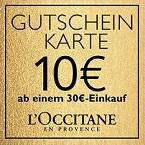 GUTSCHEIN-KARTE 10€ ab einem 30€-Einkauf