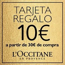 Tarjeta regalo de 10€ a partir de 30€ de compra