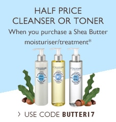 Your Shea Toner/Cleanser Half Price Gift