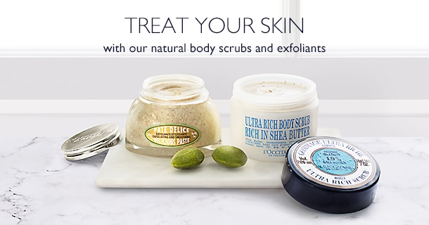 Treat Your Skin With Our Natural Body Scrubs and Exfoliants