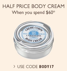 Half Price Body Cream