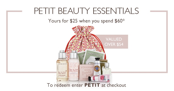 Your Half Price Petit Beauty Essentials