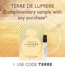 Your FREE   Terre de Lumiere Sample