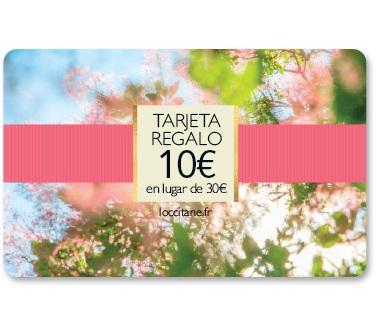 Tarjeta Regalo 10€ en lugar de 30€
