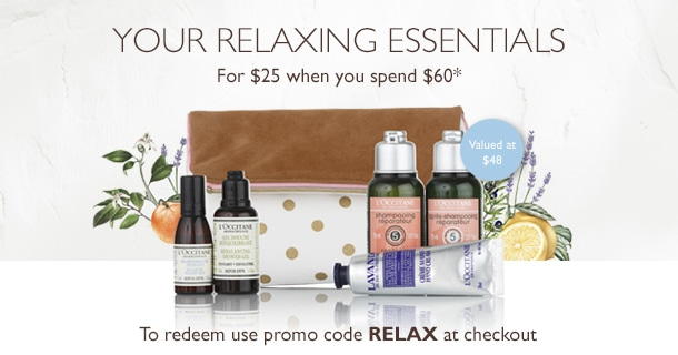 your relaxing essentials