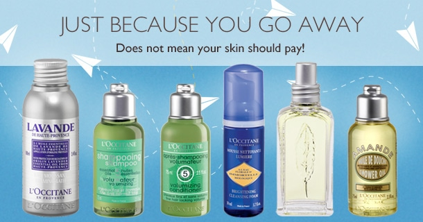 JUST BECAUSE YOU GO AWAY.Does not mean your skin should pay!