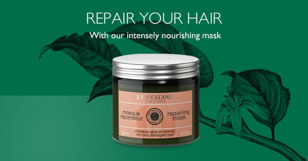 Repair your hair with our intensely nourishing mask!