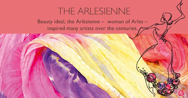 Beauty ideal, the Arlésienne –  woman of Arles –  inspired many artists over the centuries.