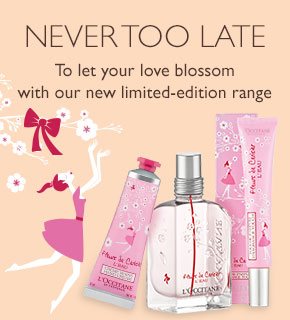 To let your love blossom with our new limited-edition range.