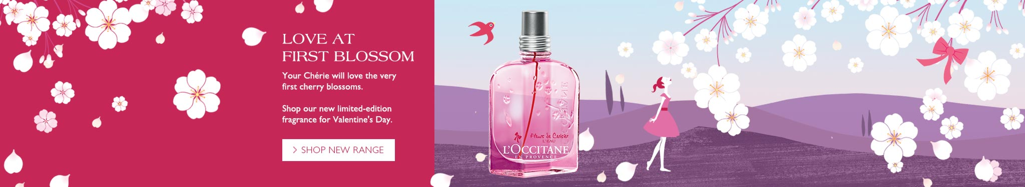 With new fragrance Cherry Blossom L'Eau