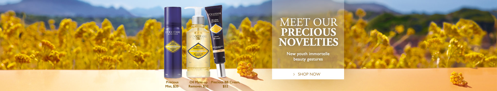 Immortelle Novelties