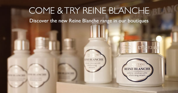Discover the new Reine Blanche range in one of our boutiques