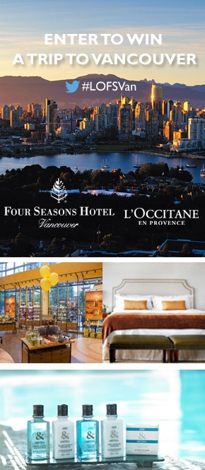 Four Seasons Vancouver Contest
