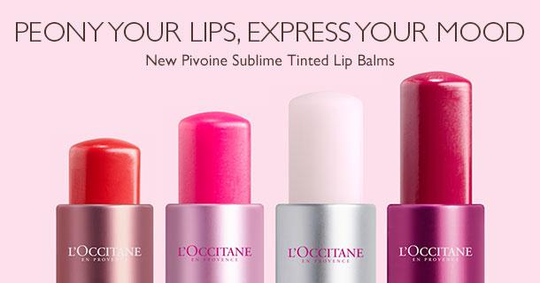 New Pivoine Sublime Tinted Lip Balms