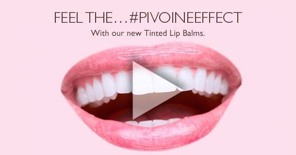 With our new tinted lip balms
