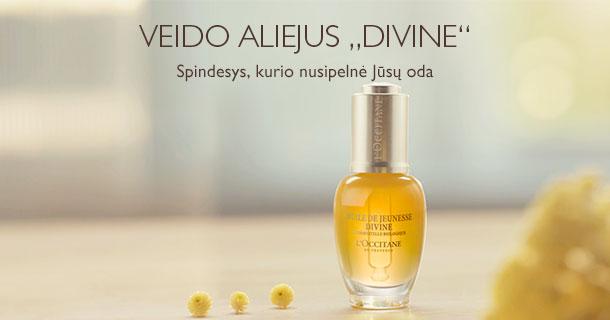 "VEIDO ALIEJUS ""DIVINE"""