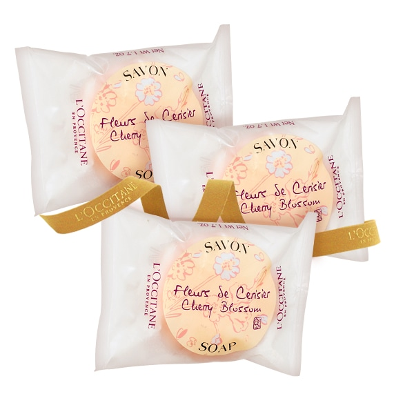 Cherry Blossom Soap Trio