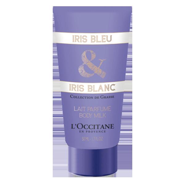 Parfumsko mleko za telo Iris Bleu & Iris Blanc