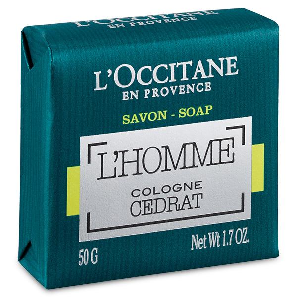Jabón Sólido L'Homme Cologne Cedrat