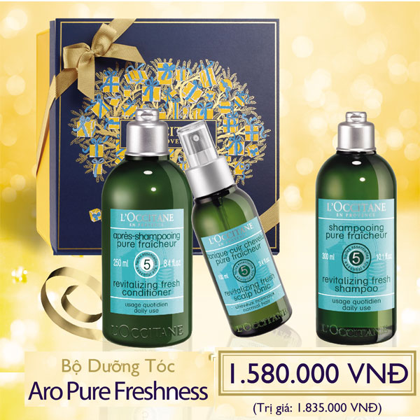 AROMACHOLOGY HAIR CARE SET