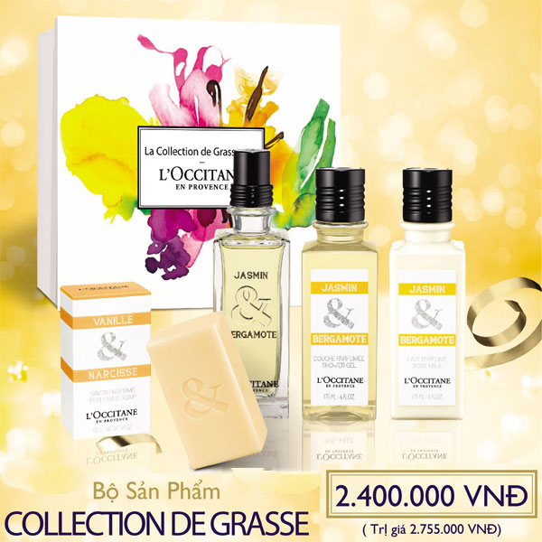 Collection De Grasse Gift Set