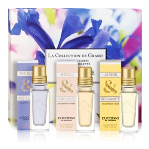 La Collection de Grasse Mini Eau de Toilette Trio