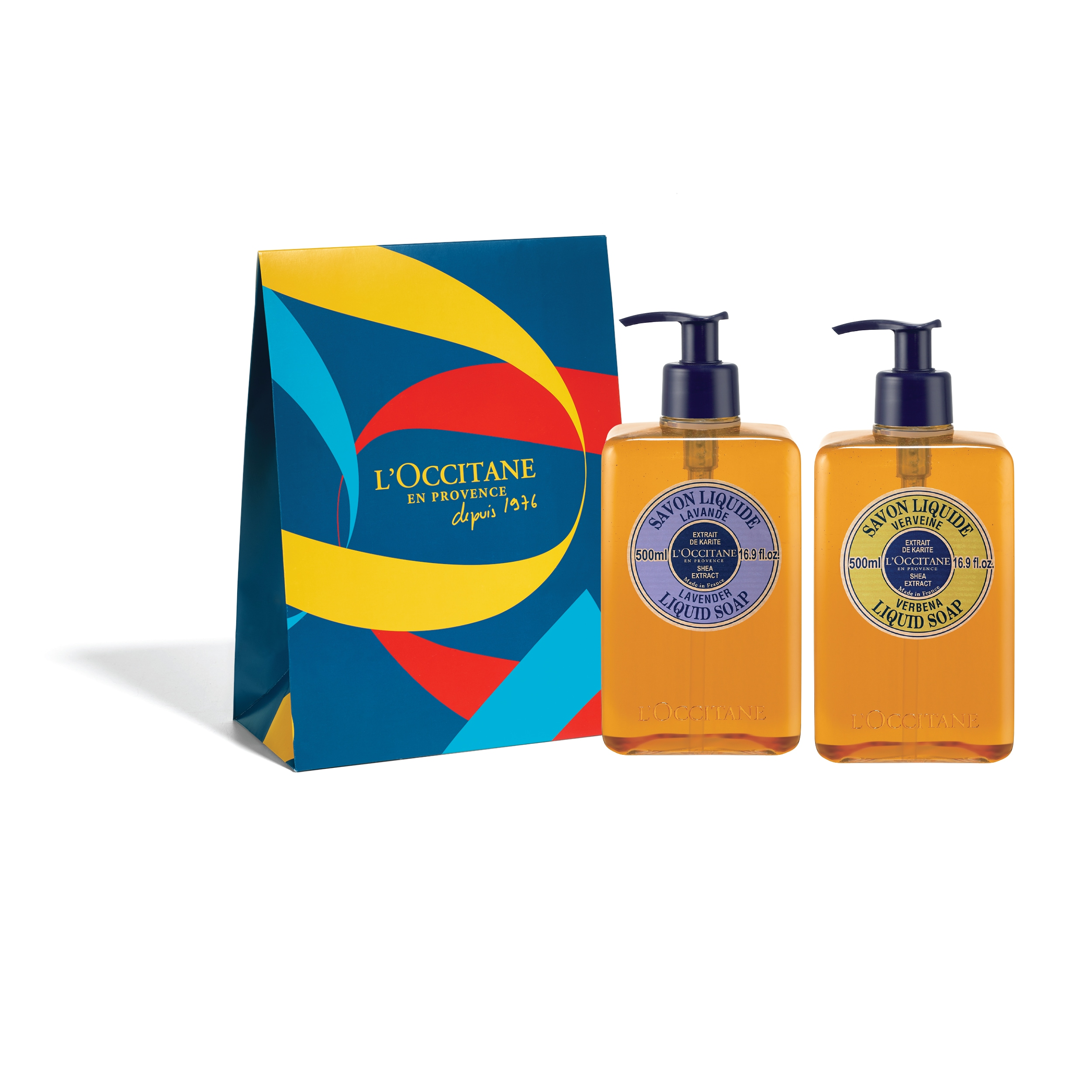 Liquid Soap Duo Set