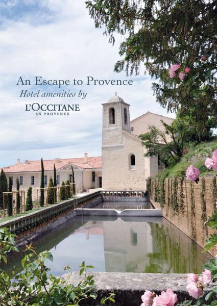 Katalógus 2012 | An Escape to Provence Hotel amenities by L'OCCITANE En Provence