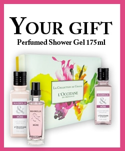 La Collection de Grasse Gift with purchase Perfumed Shower Gel