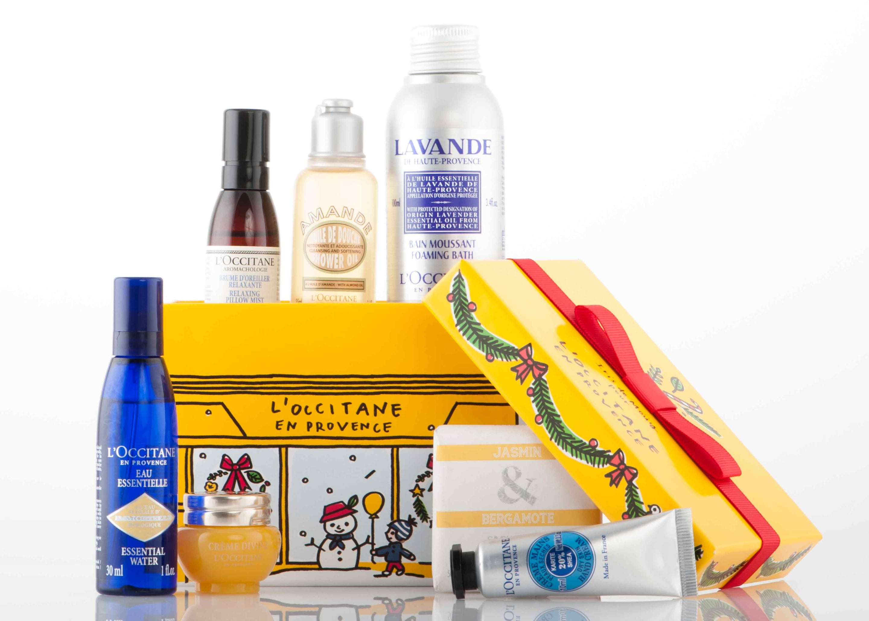 The L'Occitane essentials at R 285 with any R 950 purchase