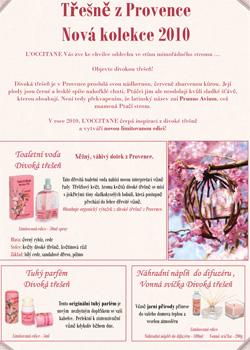 Třešně z Provence Nová kolekce 2010