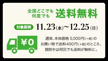 11.23(水)~12.25(日)
