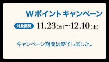 11.23(水)~12.10(土)