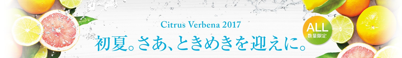 Citrus Verbena 2017 初夏。さあ、ときめきを迎えに。