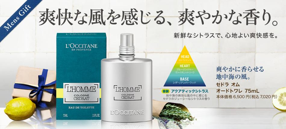 Mens Gift 爽快な風を感じる、爽やかな香り。