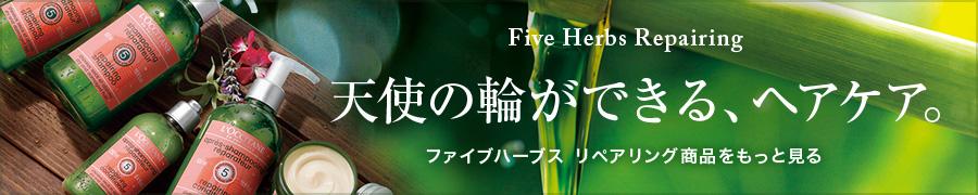 Five Herbs Repairing 天使の輪ができる、ヘアケア。